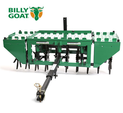 Billy Goat AET60 Tow behind aerator